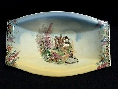 """Vintage Lancasters Ltd """"Home Sweet Home"""" with Crinoline Lady, Small Pin Dish"""