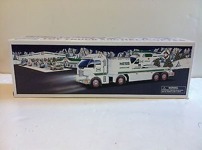 2006 Hess Toy Truck with Helicopter....New