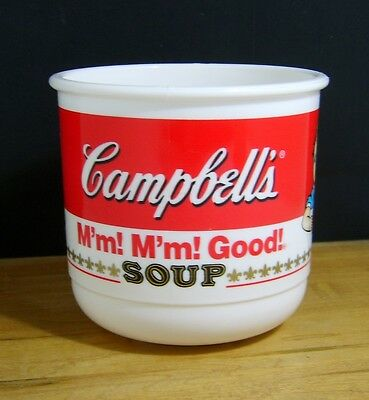 Vintage Anchor Hocking Campbell's M'm! M'm! Good! Plastic Cup