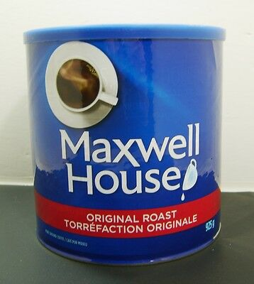 Maxwell House Original Roast Coffee Can 925 Grams Unopened New