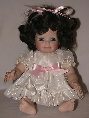 Cute Artist Made Bisque Reproduction Pouty Crying Baby Doll