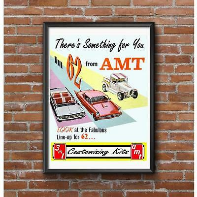 Classic AMT Customizing Model Car Kits 1962 Poster