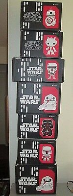 Star Wars Smugglers Bounty Lot of 7 Empty Boxes