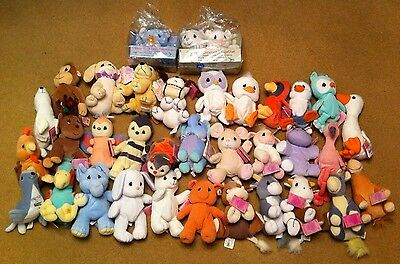 Lot Of 35 Precious Moments Tender Tails Beanie Enesco Mint With Hang Tags Rare!