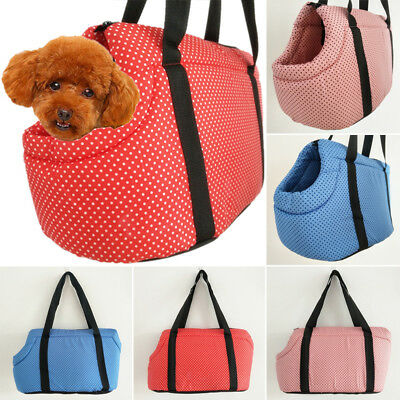 Soft Carry Shoulder Bag Outdoor Travel Tote Handbag for Small Pet Dog Puppy Cat