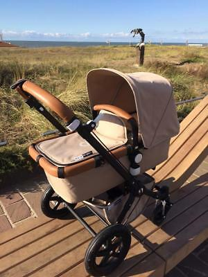 Bugaboo Cameleon1,2 & 3 Plain Style 3 Piece Set In Real Lambs Leather