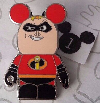 Mr. Incredible Vinylmation Collectors Set Pixar 1 Incredibles Disney Pin 95714