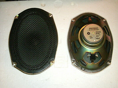05059184AC Mopar Dodge Chrysler 6 x 9 oval 4 ohm 15W 15 Watt oval speaker pair