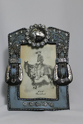 "Vintage Western Horse Cowboy themed 4"" x 6"" Picture Photo Frame"