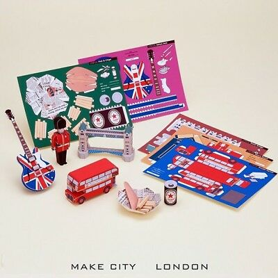 Make City London Edition 5 Postcard Set *make It Or Post It* Rare Limited