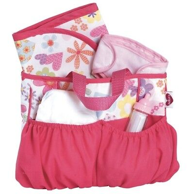 Adora Baby Dolls Diaper Bag with Accessories Changing Set