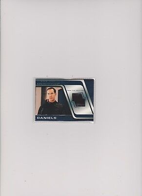 Enterprise Season 4 Costume Card C10 Daniels