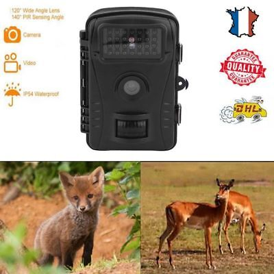 12MP Caméra de Chasse TFT LCD Observation Animaux Traque SD  Vision Nocturne