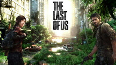 "001 The Last of Us - Zombie Survival Horror Action TV Game 24""x14"" Poster"