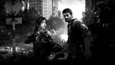 "010 The Last of Us - Zombie Survival Horror Action TV Game 24""x14"" Poster"
