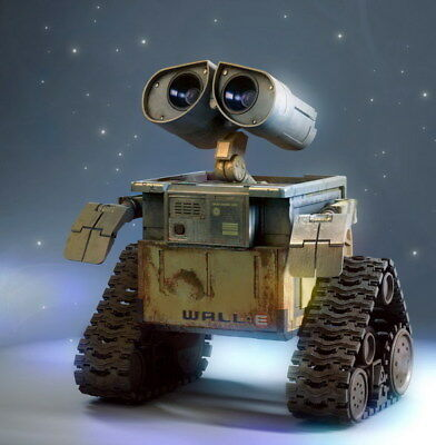 "009 WALL E - Pixar Eve Space Adventure Cartoon Movie 14""x14"" Poster"