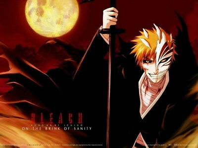"020 Bleach - Dead Rukia Ichigo Fight Japan Anime 18""x14"" Poster"