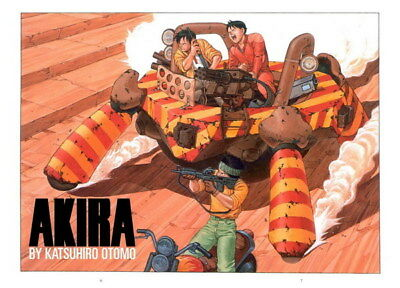 "031 Akira - Red Fighting Hot Japan Anime 19""x14"" Poster"