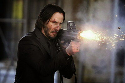"""009 John Wick Chapter 2 - Keanu Reeves 2017 Movie 21""""x14"""" Poster"""