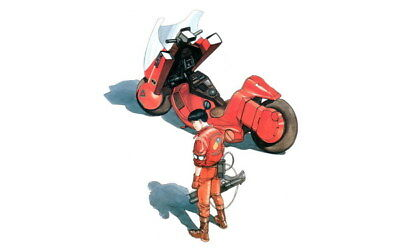"014 Akira - Red Fighting Hot Japan Anime 22""x14"" Poster"