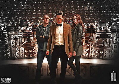 "016 Doctor Who - BBC Space Travel 50th_anniversary Hot TV Show 19""x14"" Poster"
