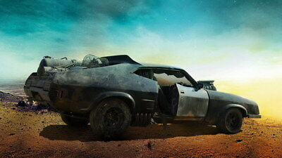 """042 Mad Max 4 Fury Road - Fight Shoot Car USA Movie 24""""x14"""" Poster"""