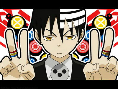 """027 Soul Eater - Shinigami Death the kid Anime 18""""x14"""" Poster"""