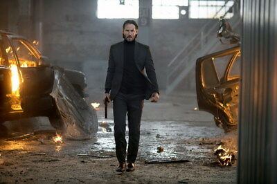 """008 John Wick Chapter 2 - Keanu Reeves 2017 Movie 21""""x14"""" Poster"""