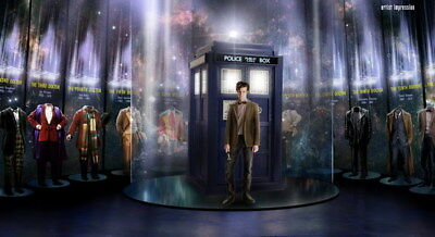 """031 Doctor Who - BBC Space Travel 50th_anniversary Hot TV Show 25""""x14"""" Poster"""
