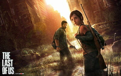 "006 The Last of Us - Zombie Survival Horror Action TV Game 22""x14"" Poster"