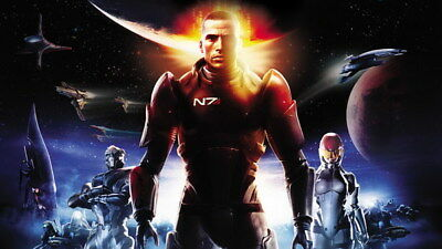 "052 Mass Effect 3 - ME Killer Fighting Shooting Hot TV Game 42""x24"" Poster"