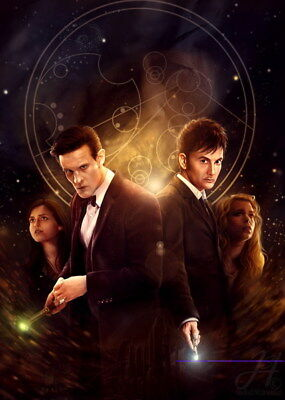 """052 Doctor Who - BBC Space Travel 50th_anniversary Hot TV Show 24""""x33"""" Poster"""