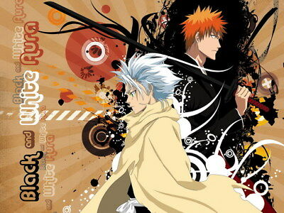 "062 Bleach - Dead Rukia Ichigo Fight Japan Anime 32""x24"" Poster"
