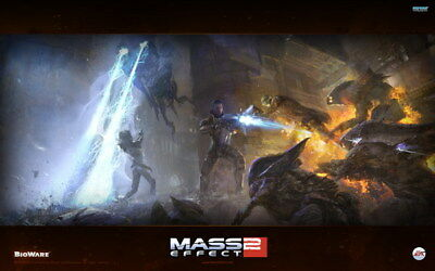 "078 Mass Effect 3 - ME Killer Fighting Shooting Hot TV Game 38""x24"" Poster"