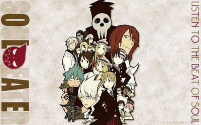 """081 Soul Eater - Shinigami Death the kid Anime 38""""x24"""" Poster"""