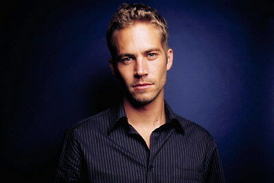 """074 Paul Walker - RIP Fast and Furious Super Movie Star 36""""x24"""" Poster"""