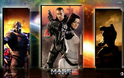 """079 Mass Effect 3 - ME Killer Fighting Shooting Hot TV Game 38""""x24"""" Poster"""
