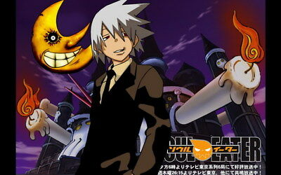 """085 Soul Eater - Shinigami Death the kid Anime 38""""x24"""" Poster"""