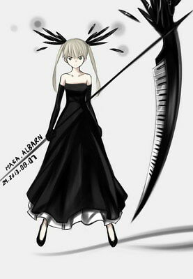 """074 Soul Eater - Shinigami Death the kid Anime 24""""x34"""" Poster"""