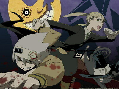 """057 Soul Eater - Shinigami Death the kid Anime 32""""x24"""" Poster"""