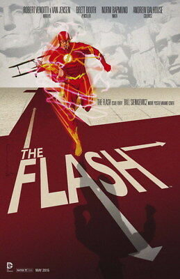 "042 The Flash - Justice League USA Hero Season 1 TV 24""x37"" Poster"