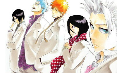 "043 Bleach - Dead Rukia Ichigo Fight Japan Anime 38""x24"" Poster"