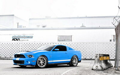 """042 Mustang - Ford Shelby GT500  Classic Racing Car concept 38""""x24"""" Poster"""