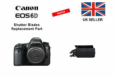 Shutter Blades Replacement Part for a Canon 6D