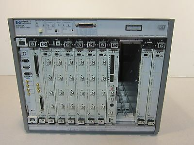 HP E8403A VXI Mainframe Systems 100/120/200-240V, 50-400Hz, CE tagged