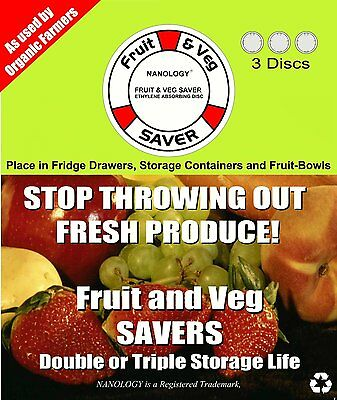 Fruit and Veg Savers - 3 Discs