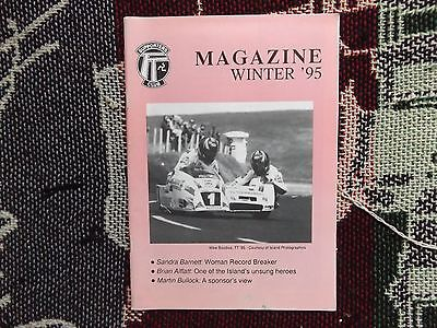 Isle Of Man Tt Supporters Club Magazine Winter 1995 - Mike Boddice Sidecar Cover