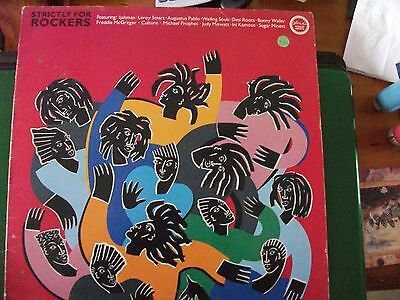Strictly For Rockers Lp 1985 Island Records