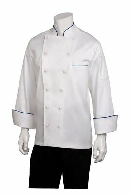 Chef Works Men's Carlton Executive Chef Coat ECCA