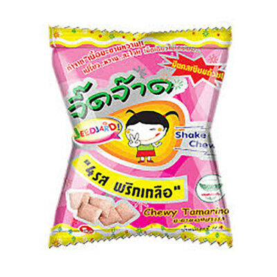 12g.Chewy Tamarind with salt and chili spicy sweet sour  candy dried fruit